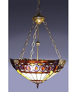 Amberjack Tiffany Hanging Lamp