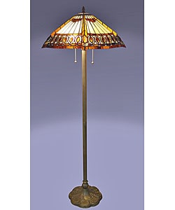 Amberjack Tiffany Floor Lamp