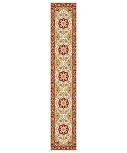 "Safavieh Lyndhurst Collection Ivory/Red Runner Rug (2'3"" x 12')"