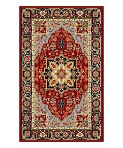 Safavieh Lyndhurst Collection Oriental Red/ Black Rug (3'3 x 5'3)