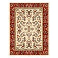Safavieh Lyndhurst Collection Ivory/ Red Rug (3'3 x 5'3)