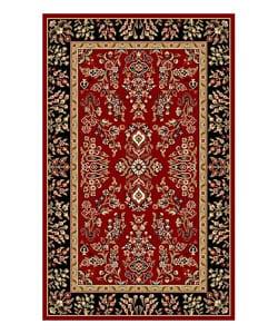 Safavieh Lyndhurst Collection Red/ Black Rug (3'3 x 5'3)