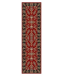 Safavieh Lyndhurst Collection Red/ Black Runner (2'3 x 8')