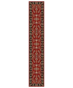 Safavieh Lyndhurst Collection Red/ Black Runner (2'3 x 12')