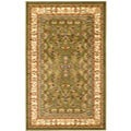 Lyndhurst Collection Sage/ Ivory Rug (3'3 x 5'3)