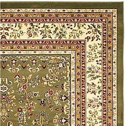 Lyndhurst Collection Oriental Sage/Ivory Rug (5'3