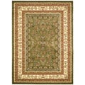 Lyndhurst Collection Oriental Sage/Ivory Rug (5'3