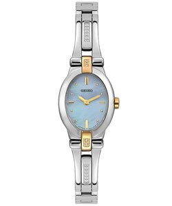 Seiko Women's Two-tone Diamond Watch