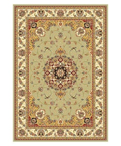 Safavieh Lyndhurst Collection Sage/ Ivory Rug (5'3 x 7'6)