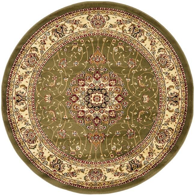 Safavieh Lyndhurst Collection Sage/ Ivory Rug (8' Round)