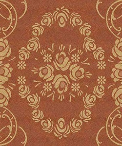 Indoor/ Outdoor Garden Terracotta/ Natural Rug (7'10 x 11')