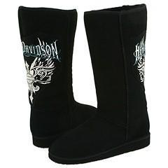 Harley Davidson Pinnacle Black Boots