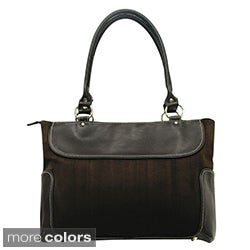 Women's Casual Suede Business Laptop Tote