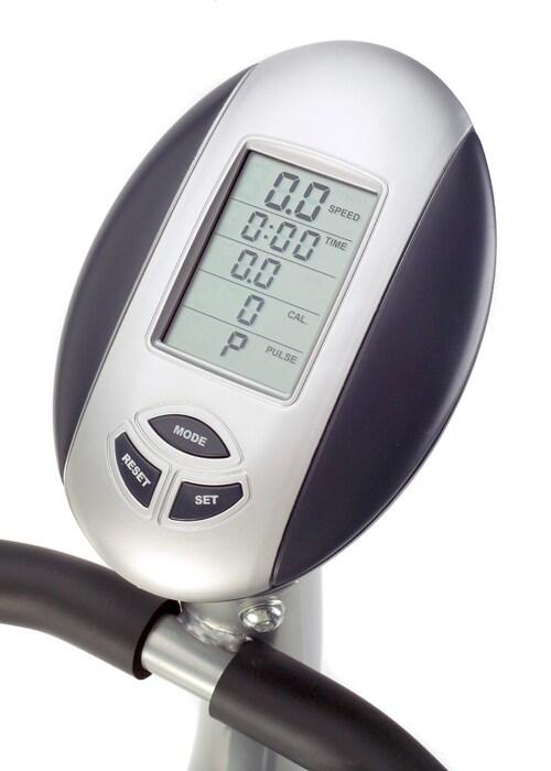 Crescendo Fitness Magnetic Upright Exercise Bike