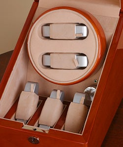 Two-slot Watch Winder