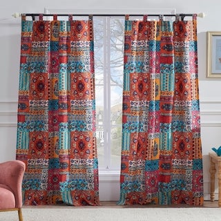 Barefoot Bungalow Indie Spice Curtain Panel Pair - 42 x 84