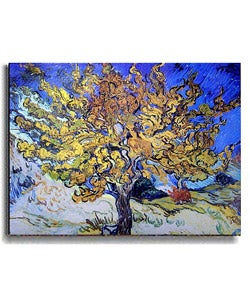 Vincent Van Gogh Mulberry Tree Stretched Canvas