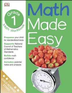 Math Made Easy: Grade 1 (Paperback)