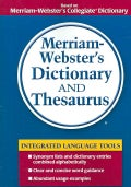 Merriam-Webster's Dictionary and Thesaurus (Paperback)