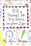 52 Things to Try Once in Your Life (Cards)