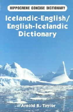 Icelandic-English/English-Icelandic Dictionary (Paperback)
