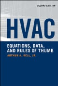 Hvac Equations, Data, and Rules of Thumb (Paperback)