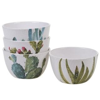 Certified International Cactus Verde 5.5-inch Ice Cream Bowls (Set of 4)
