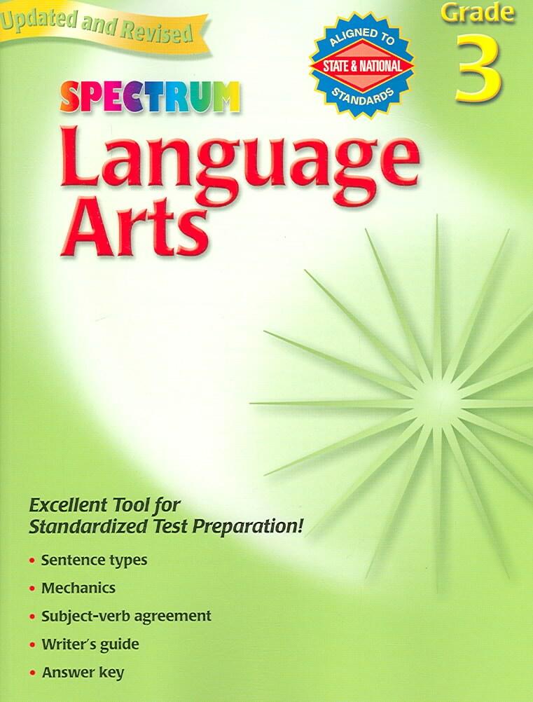 Language Arts: Grade 3 (Paperback)