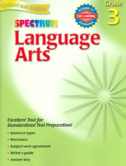 Language Arts: Grade 3 (Paperback)