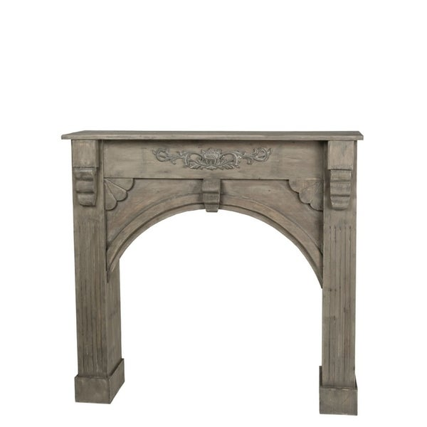 "Classic Decorative Mantle - 42""l x 8.25""w x 39.5""h"