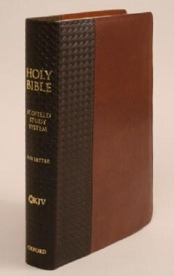 The Scofieldstudy Bible III: New King James Version, Brown/tan Bonded Leather Basketweave (Hardcover)