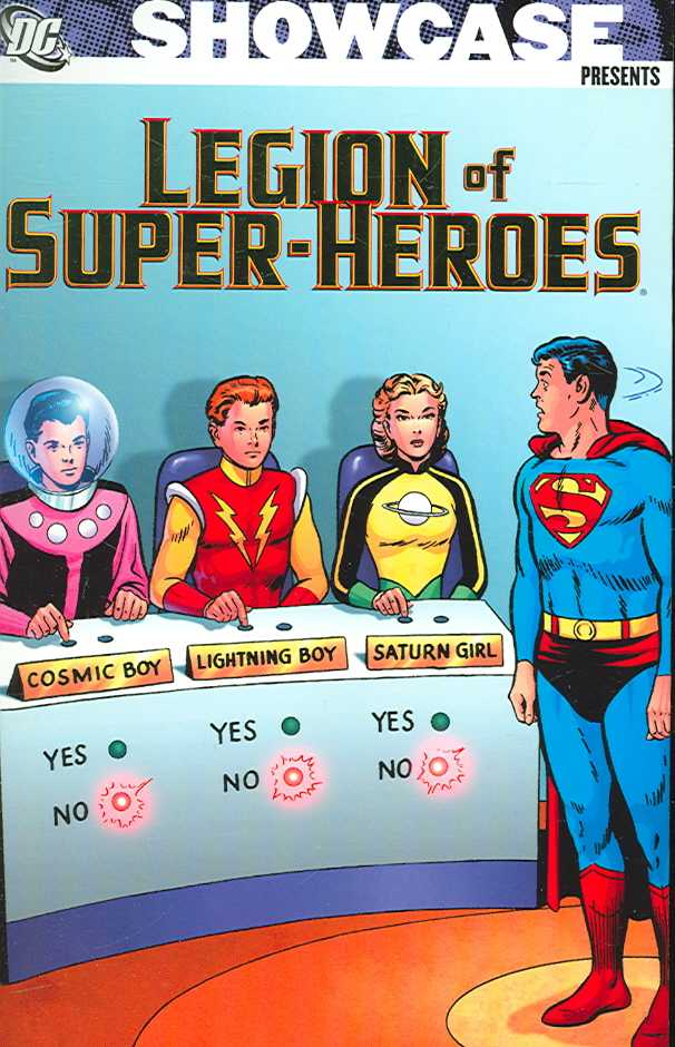 Showcase Presents 1: The Legion of Superheros (Paperback)