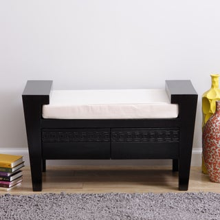 Storage Bench with Cushion and Drawers (Peru)