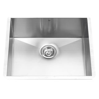 23-inch Undermount Stainless Steel 16 Gauge Single Bowl Kitchen Sink