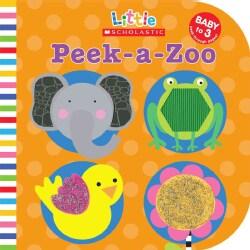 Peek-a-zoo (Board book)