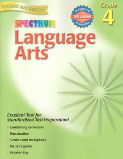 Language Arts: Grade 4 (Paperback)