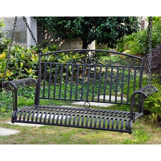 International Caravan Tropico Iron Porch Swing