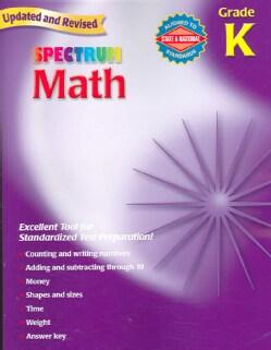 Spectrum Math Grade K (Paperback)