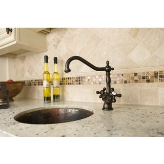 Oil-rubbed Bronze Kitchen Faucet