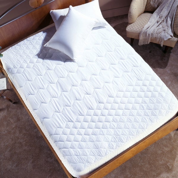 Simmons Pima Cotton Trizone Mattress Pad (As Is Item)