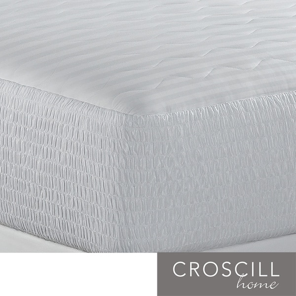 Croscill 500 Thread Count Egyptian Cotton Mattress Pad