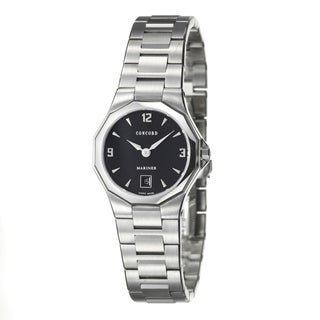 Concord Mariner Women's Black Dial Luxury Watch