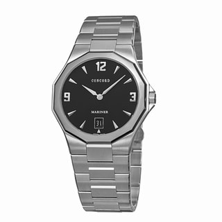 Concord Mariner Men's Black Dial Luxury Watch