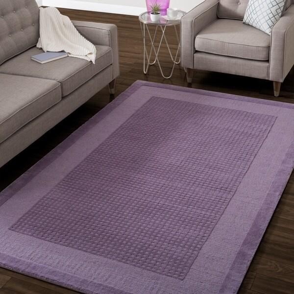 Nourison Hand-tufted Westport Contemporary Wool Rug (5' x 8')