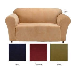 Stretch Velvet Sofa Slipcover