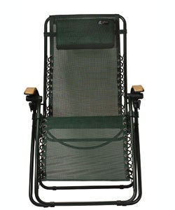 Lounge Lizard Folding Travel Chair (Green)