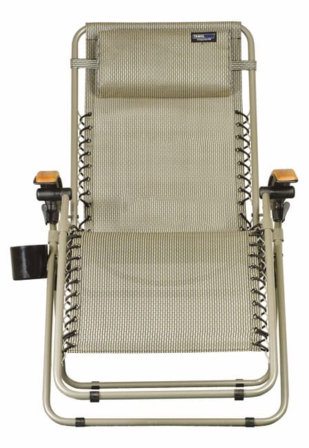 TravelChair Lounge Lizard Salt & Pepper Folding Recliner Chair