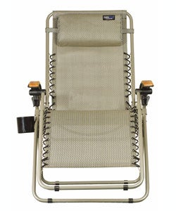 Lounge Lizard Salt & Pepper Folding Travel Chair