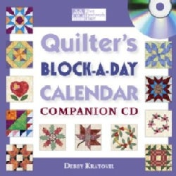 Quilter's Block-A-Day Calendar Companion Cd (CD-ROM)