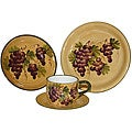 Sonoma Collection Hand-painted 16-piece Dinnerware Set